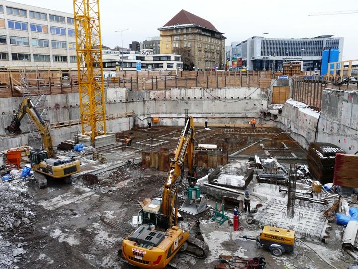 B ro und verwaltungsgeb ude city gate stuttgart godel beton - Buro 13 architekten ...