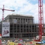 Baustellenansicht Stadthalle Reutlingen
