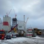 Unsere mobile Mischanlage in Wilhelmshaven
