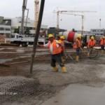 Baustellenansicht im August 2007