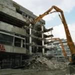 Sommer 2005 - Abriss des alten Kronprinzbaus