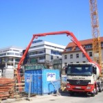 Baustellenansicht im Mai 2007