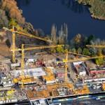 Luftaufnahme im November 2009