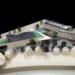Modellansicht Stadthalle Esslingen