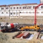 Einbau Bodenplatte im September 2006