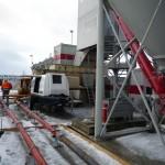 Baustellenansicht Steinkohlekraftwerk