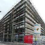 Baustellenansicht Februar 2013
