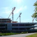 Baustelle im Juni 2013