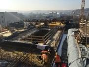 Baustellenansicht Februar 2017