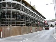 Baustellenansicht September 2012