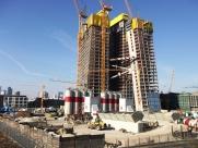Baustellenansicht Februar 2012