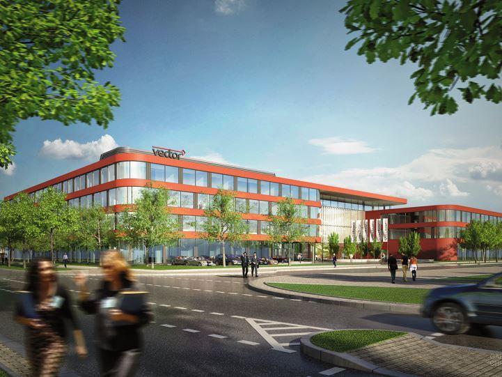 Neubau Hauptgebäude Vector Informatik – Stuttgart