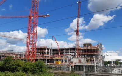 Neubau Bürogebäude SW9